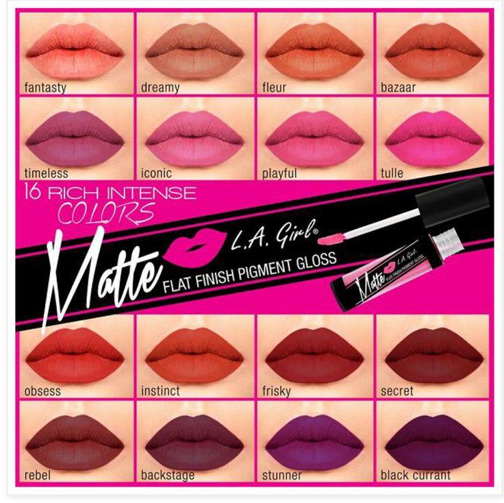 la girl matte lipstick distrito belleza