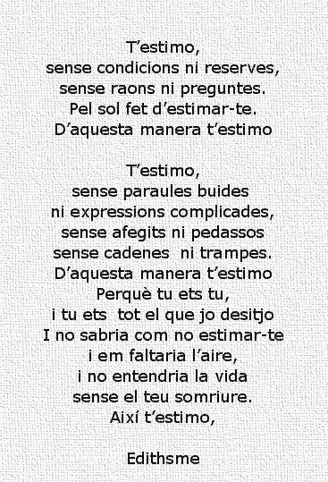 poemes en catala per la mare - Buscar con Google