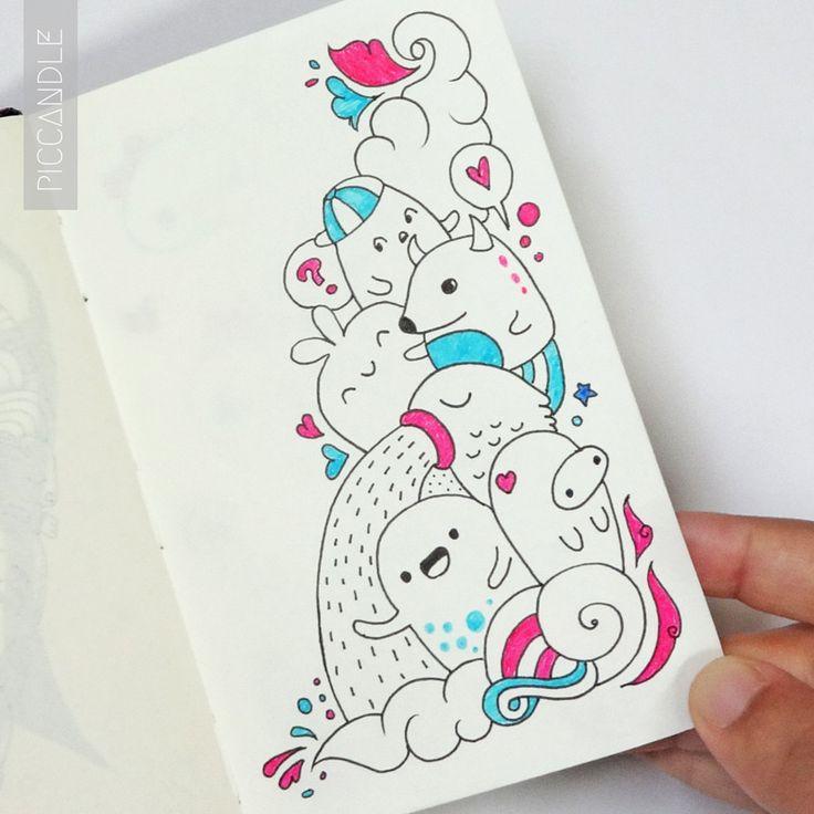 Scribble Drawing Tumblr : Mais de ideias sobre desenhos fofos tumblr no