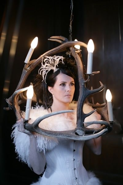 Antlers and Sharon Den Adel of Within Temptation.