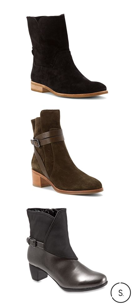 Your new fall favourite—suede ankle boots from Via Spiga. Get FREE SHIPPING  on