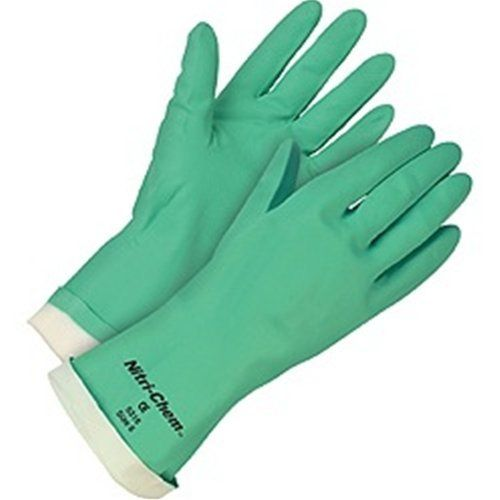 "13"" Flocklined Nitrile Glove M by Abco Approved Manufacturer. $15.95. SEAMLESS SYNTHETIC RUBBER GLOVES,GREEN NITRILE, FLOCK-LINED, MEN'S SIZE M,PACKED 12 DZ PER CARTON, STRAIGHT CUFF,15 MILS THICK UOM: Dozen"