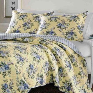 Clearwater 3-piece Quilt Set - Overstock™ Shopping - Great Deals on Quilts