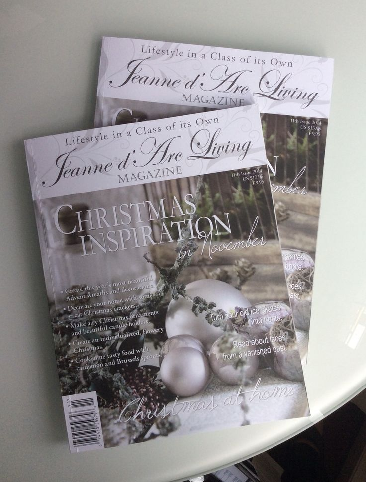My latest article in lifestyle magazine Jeanne d'Arc Living —Authentic Charm