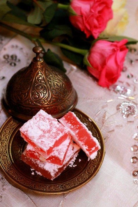 Turkish Delight -Lokum on http://momwhats4dinner.com/turkish-delight-lokum/
