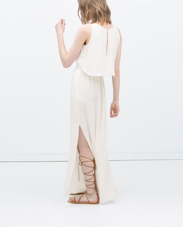 Image 4 of LONG LAYER DRESS from Zara
