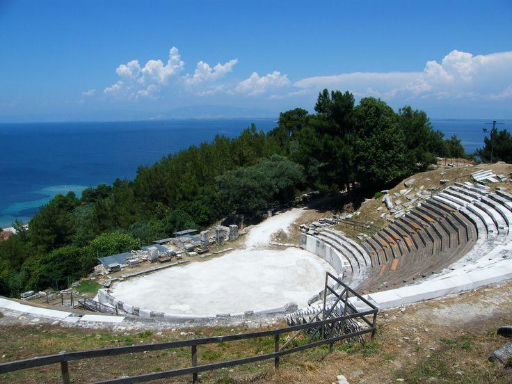 Αρχαίο Ωδείο Θάσου - Ancient Limenas Theatre