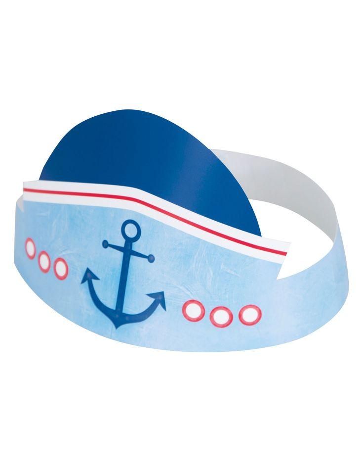 6 cappellini per festa 1 anno marinaio su VegaooParty, negozio di articoli per feste. Scopri il maggior catalogo di addobbi e decorazioni per feste del web,  sempre al miglior prezzo!