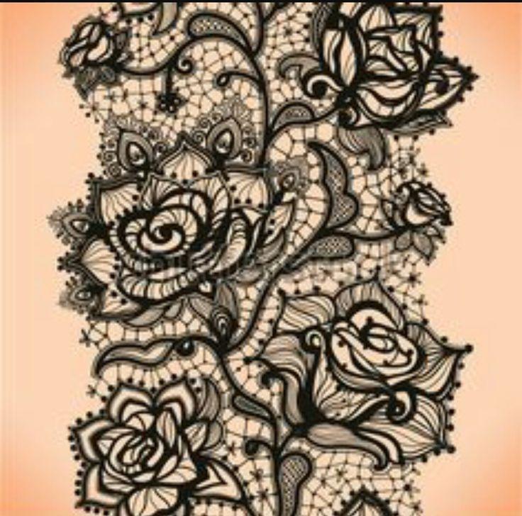Épinglé par Marie-Claude sur Tatoo   Tatouages de jarretière en dentelle, Tatouage et Tatouage ...
