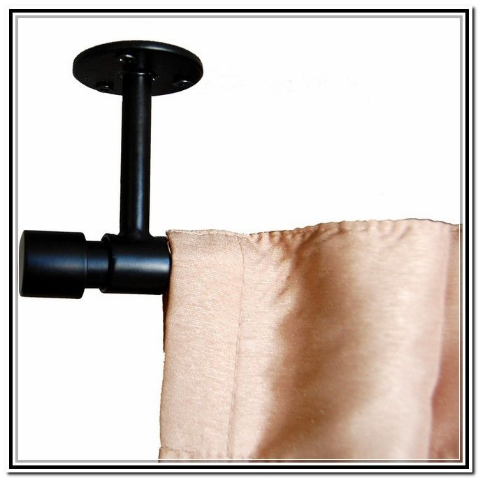 Ceiling Mount Curtain Rods Home Depot   Curtains : Home .
