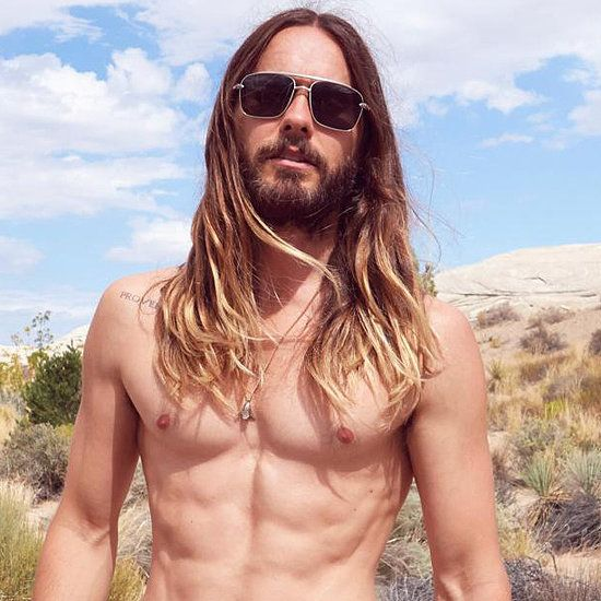 Shirtless Jared Leto Somehow Makes a Fanny Pack Look Sexy