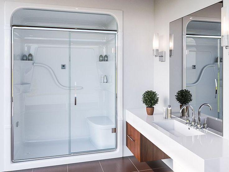 Acrylic Shower Stall. One Piece ...
