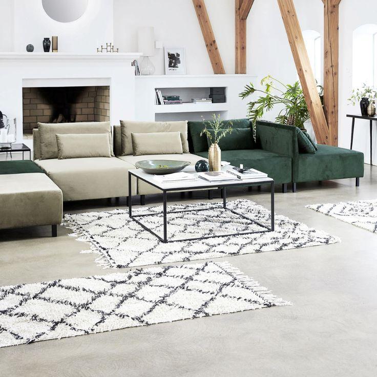 Zena gulvteppe180x180 cm (med bilder) Brun stue, Hus