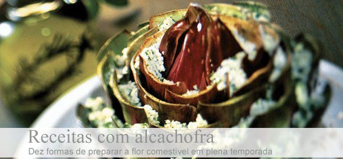 Tempo de alcachofras - alcachofra, alcachofras, tartare, massa recheada, bruschetta, bruschetta de alcachofra, sorrentine de alcachofra, casquinhas de alcachofra