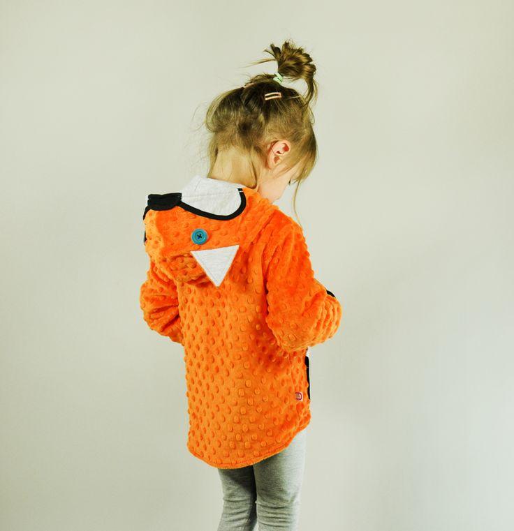 Bluza - #kurteczka_dla_dziewczynki Lis, Samodobro
