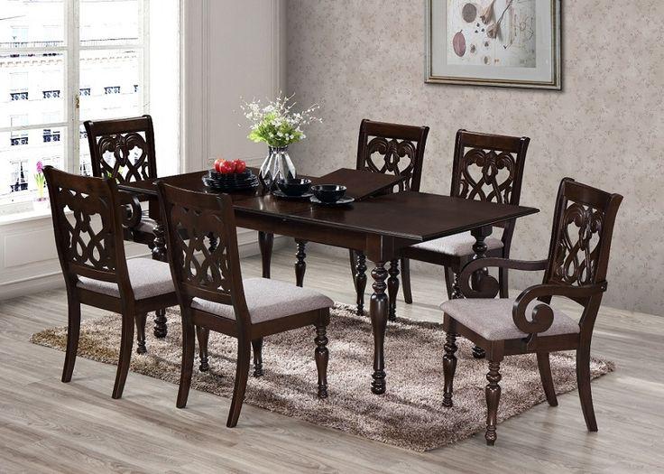 Комплект стол Алькор и стулья Орион, для столовой комнаты, натуральное дерево, купить недорого в Киеве - Бровары, цена