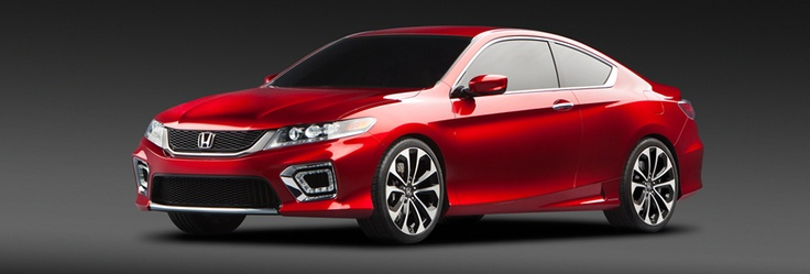 The 2013 Honda Accord Concept. Let's hope they keep it close to this. I want it.
