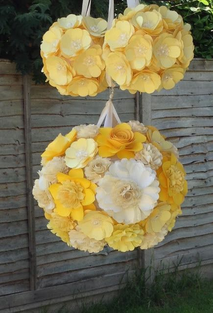 216 best flowers pomander balls images on pinterest flower ball paper flowers pomanders flower balls kissing balls mightylinksfo Choice Image