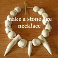 make your own stone age necklace