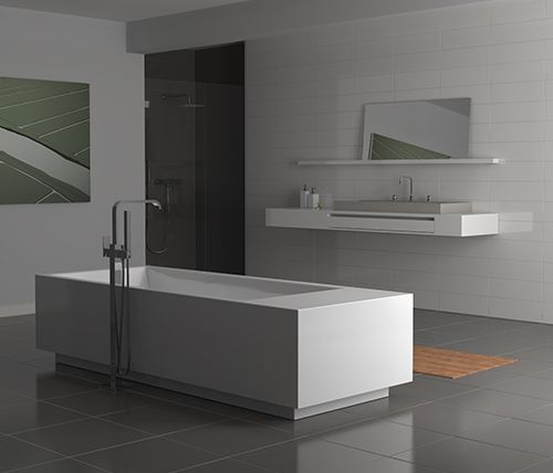 badkamer strak design ~ creatieve ideeën voor home design, Badkamer