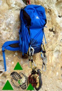 L'ottimo zaino da trekking Vaude Splock 38, recensito su www.campingeoutdoor.it