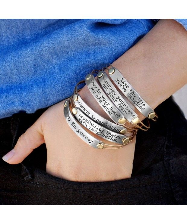 Inspirational Stack Bracelets Inspiration Jewelry Stacking Bangles Motivational Quotes Message Bracelets C411ymvvfxv Inspirational Bracelets Stacked Jewelry Bible Verse Bracelet
