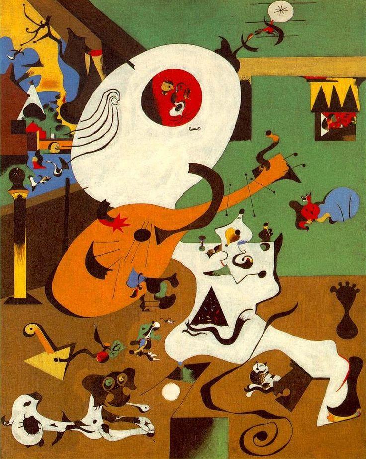 Joan Miró, Dutch Interior