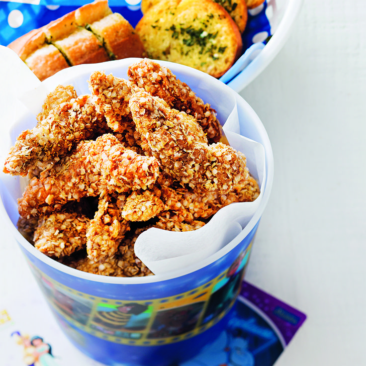 For that extra crunch that will take you to a Whole New World, try our Aladdin inspired Popcorn Chicken. #Aladdin #Disney #PopcornChicken #Chicken #CookingWithKids