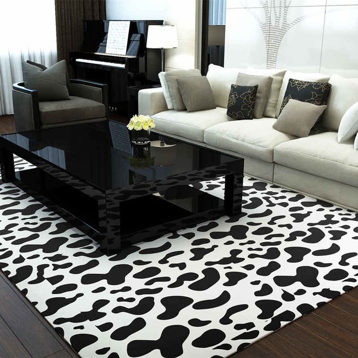 black white europe carpets large area rugs washable mat rectangle carpet living room geometric decoration carpets