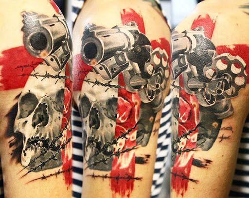 Realism Skull Tattoo by Valentina Ryabova?