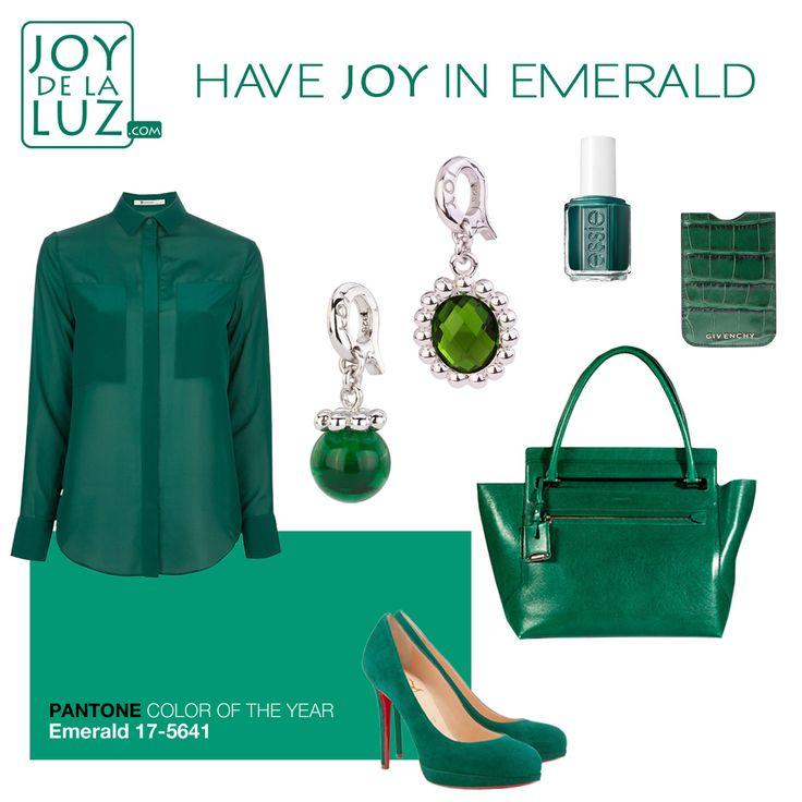 Joy de la Luz   Have Joy in emerald