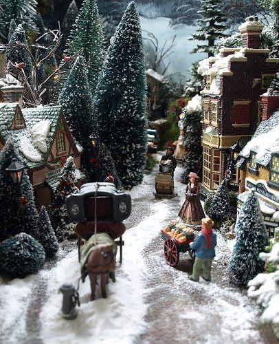 A voir : Photothèque merveilleux villages de noël - Les villages miniatures de Noël de Lalie