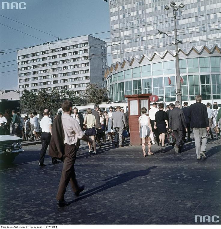 Rotunda PKO w Warszawie, 1966-69.