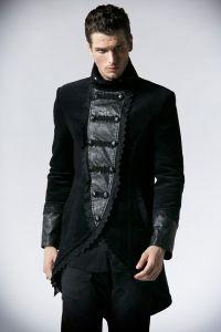 mantel mit hohem kragen in viktorianischem design viktorianische kleidung herren pinterest. Black Bedroom Furniture Sets. Home Design Ideas