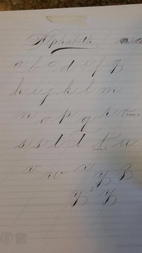 Style Spencerian Penmanship Lessons: 17 Best Images About Spencerian On Pinterest