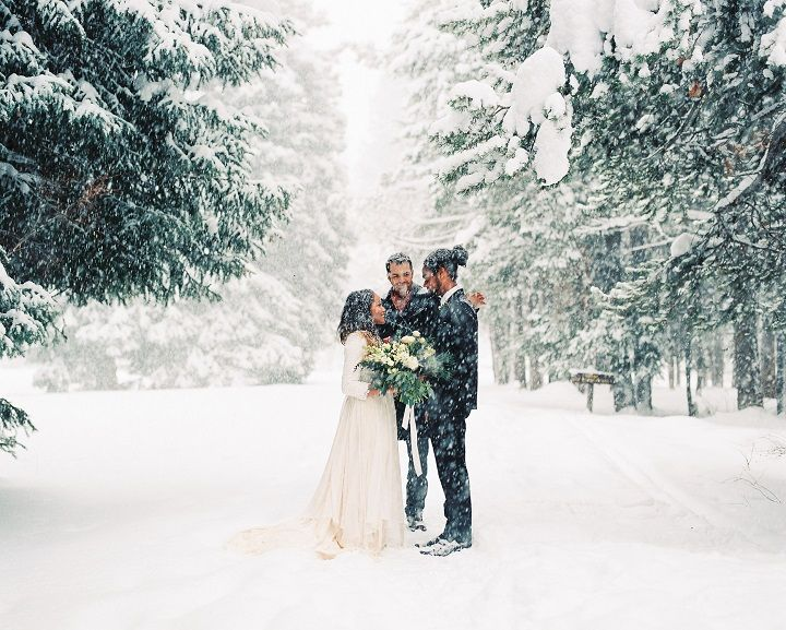 Winter Wedding Lovers This Intimate Elopement In Utah Is For You