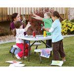 Lifetime® – Table de pique-nique pliante pour enfants