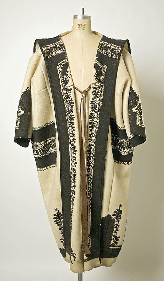 Coat Date: late 19th century Culture: Hungarian Medium: wool