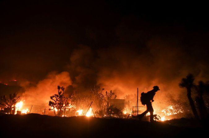 "The Blue Cut Fire ""hit with an intensity that we haven't seen before,"" the San Bernardino County fire chief said. Southern California Fire Flared Up at 5 Acres. A Day Later, It Covered 30,000."