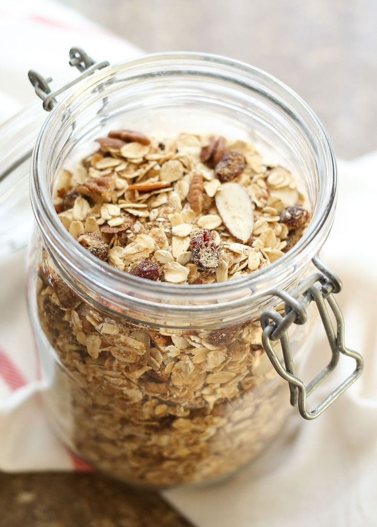 Homemade Instant Oatmeal Mix recipe by Barefeet In The Kitchen