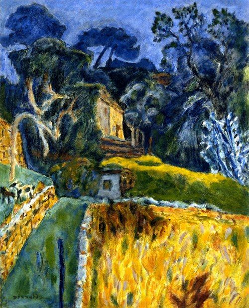 PIERRE BONNARD Landscape in the South of France (1940s)