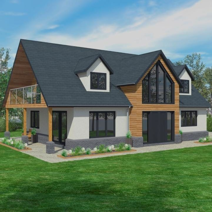 Timber Frame Home Cost A Rough Guide To Scandia S Prices And Self Build Construction Costs To Give You An In 2020 Self Build Houses House Plans Uk Bungalow Exterior