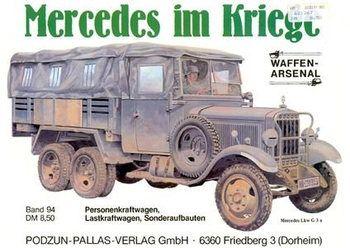Mercedes im Kriege (Waffen-Arsenal 94)