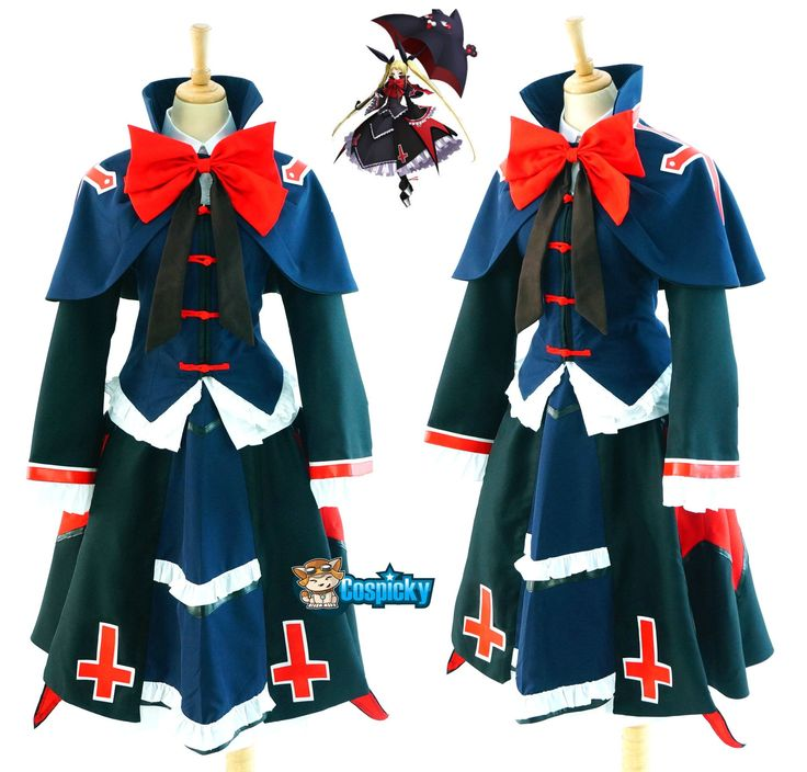 Commission Request Blazblue - Rachel Alucard Cosplay Costume CP153044