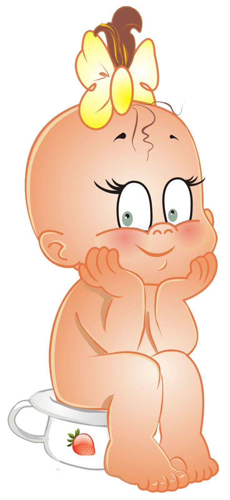 Смешные рисованные картинки малышей