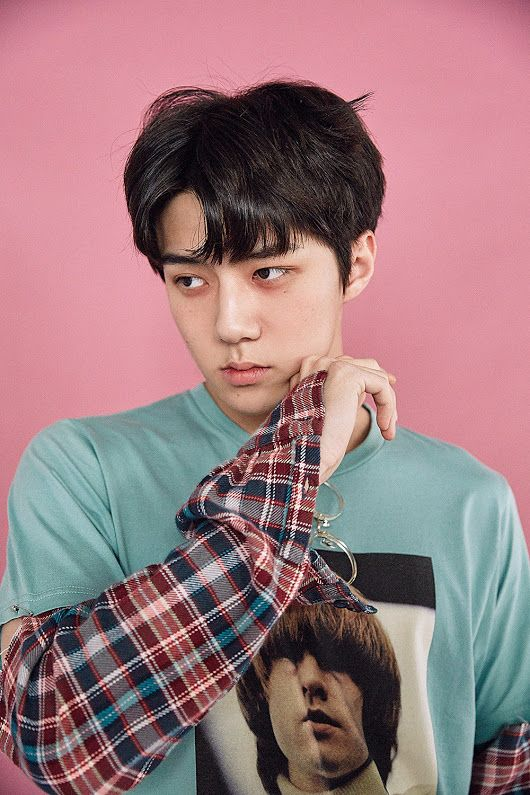 #exo #sehun #lucky one