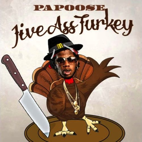 Maino was the main NY artist to take offense from Trinidad James' remarks about NY. But you know Papoose wasn't gonna let shit slide. He drops off his Thanksgiving theme diss record 'Jive Ass Turk