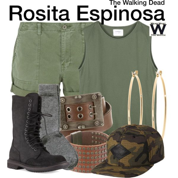 Inspired by Christian Serratos as Rosita Espinosa on The Walking Dead.