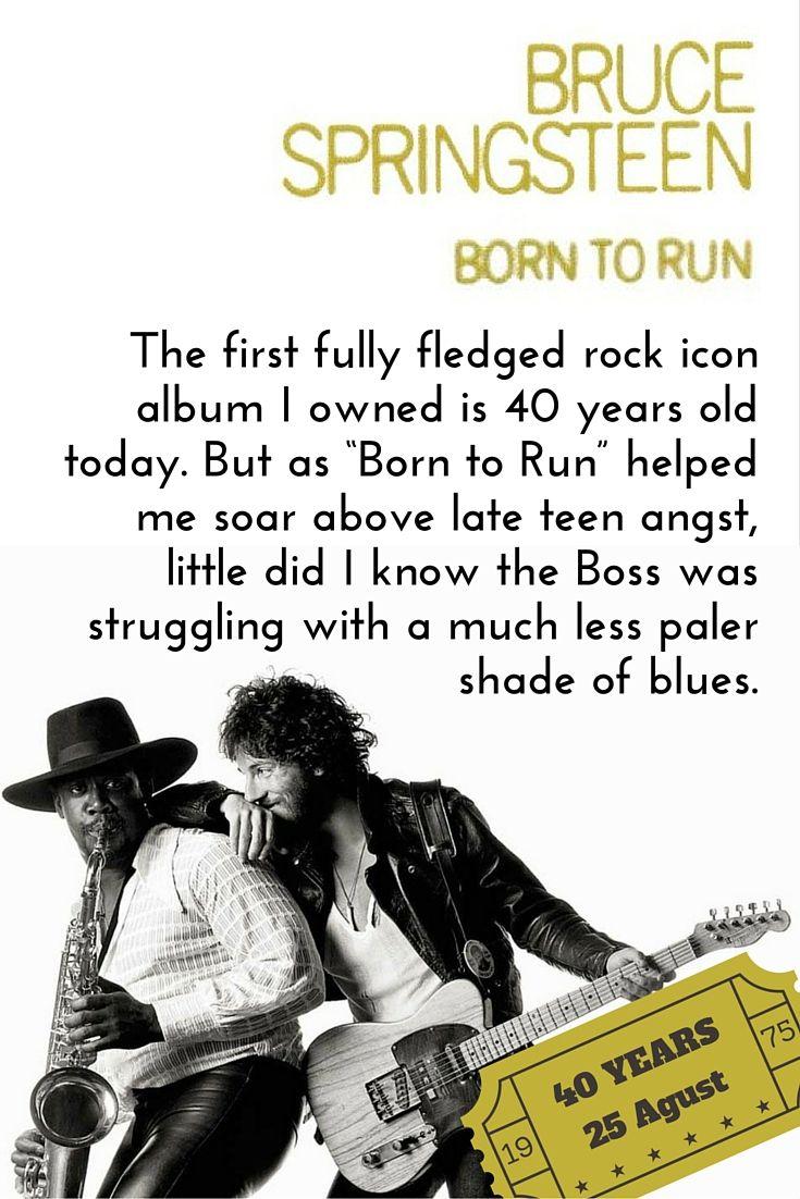 Despite battling darkness Springsteen brought me (and millions!) light #BorntoRun #Springsteen #TheBoss #OnThisDay