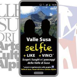 contest fotografico Valle Susa selfie